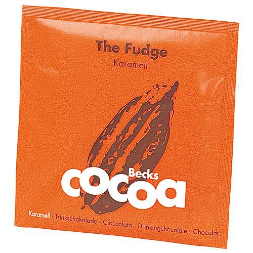 Becks Cocoa Trinkschokolade The Fudge Karamell Beutel 25 g
