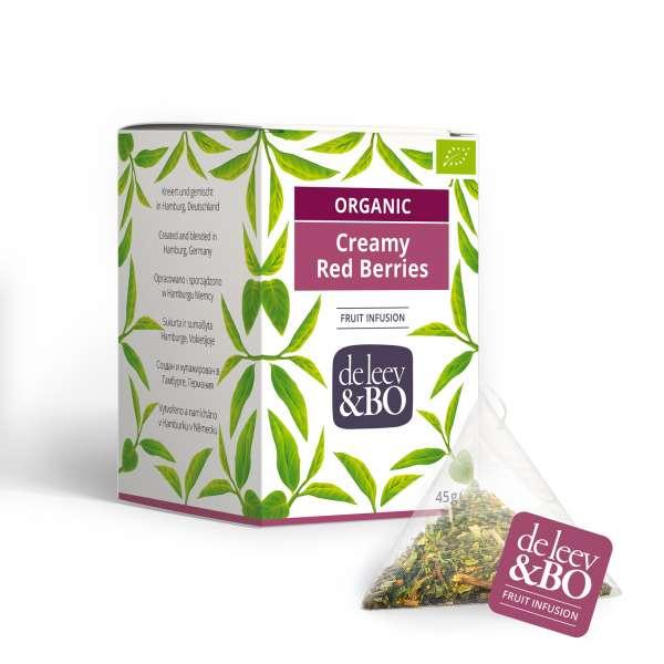 de Leev & Bo Bio Früchtetee sahnige Beeren Premium Teebeutel 15 x 2,5g