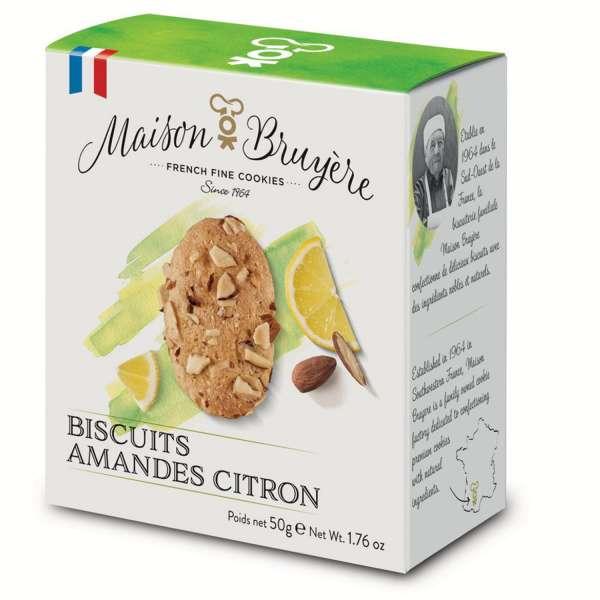 Maison Bruyere Zitronen Crisps aus Frankreich 50g