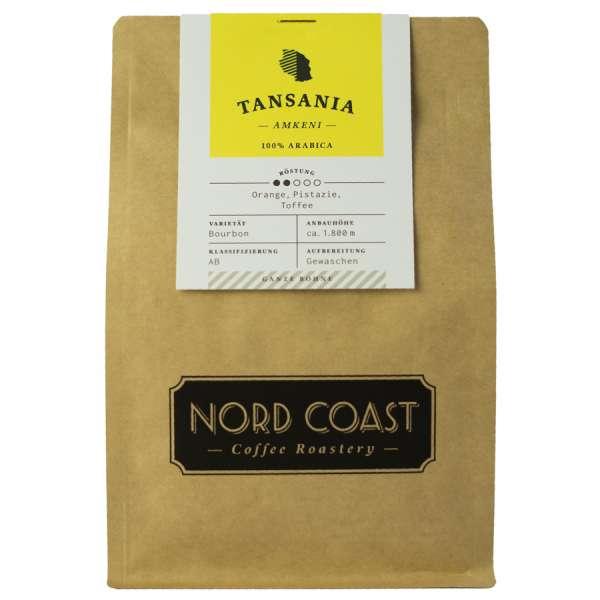 NORD COAST Tansania Amkeni Kaffee Bohne 250 g