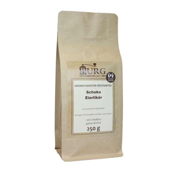 BURG Schoko Eierlikör Kaffee aromatisiert