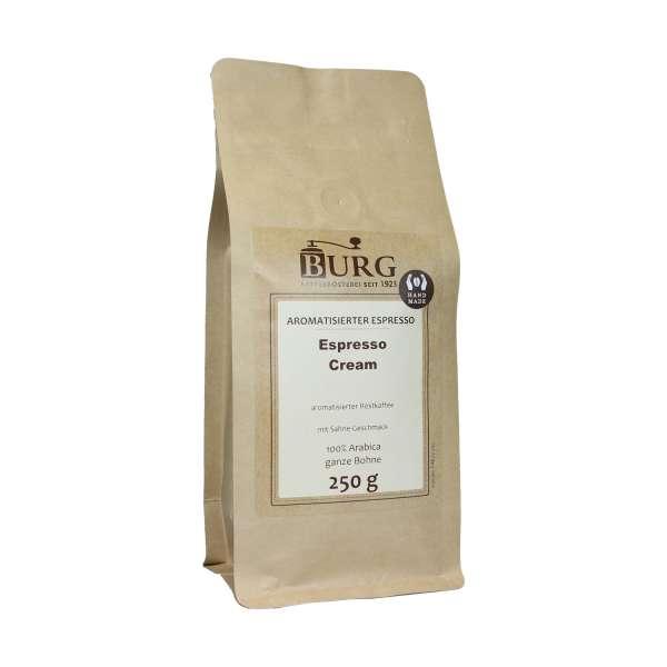 BURG Espresso Cream aromatisiert
