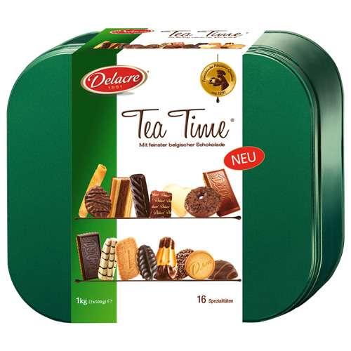 Delacre Gebäckmischung Tea Time 1000 g