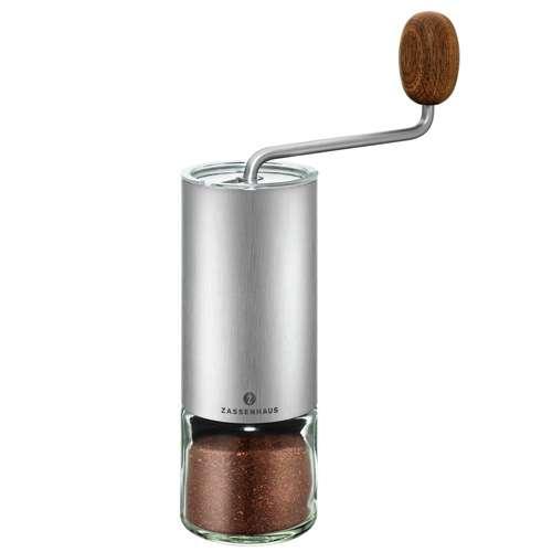 Zassenhaus Kaffee- / Espressomühle QUITO Edelstahl