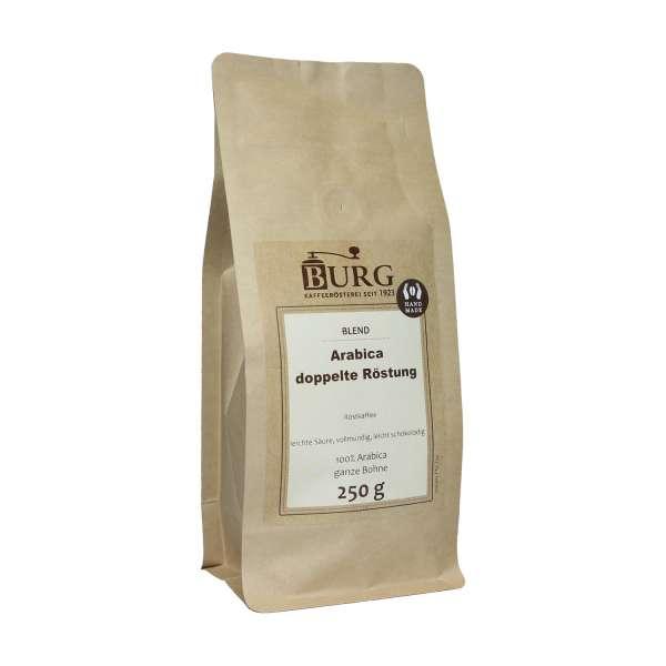 BURG Arabica Kaffee doppelte Röstung