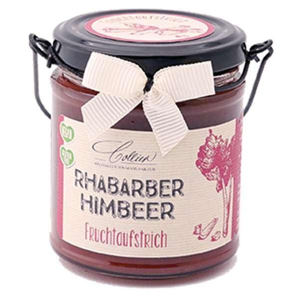 Collier Fruchtaufstrich Rharbarber - Himbeere 225g
