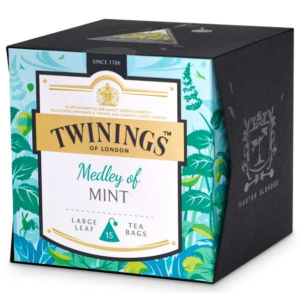 Twinings Platinum Medley of Mint 15 Teebeutel