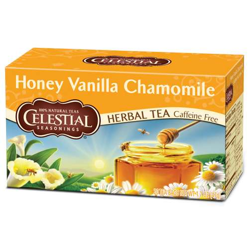 Celestial Seasonings Honey Vanilla Chamomile Tee 20 Beutel
