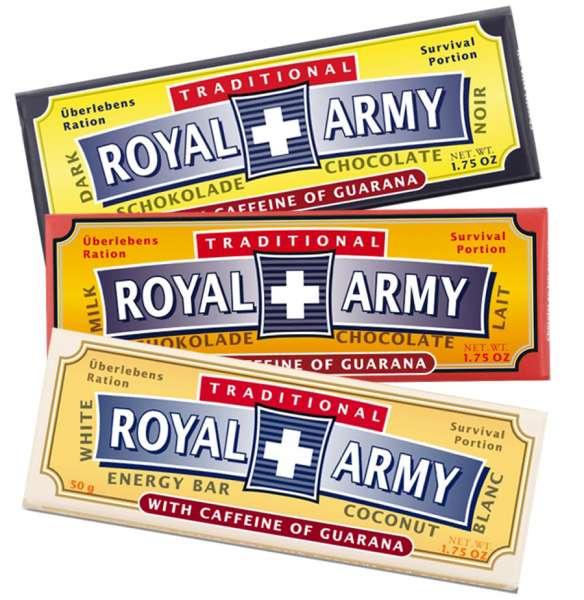Royal Army Schokoladen 3er Set 150 g