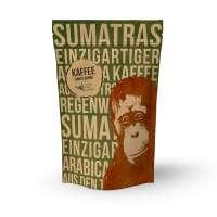 Orang-Utan Sumatra Arabica Kaffee Bohne 250 g