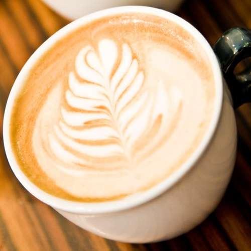 Sahne Karamel Kaffee