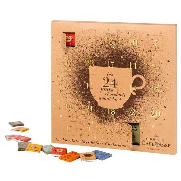 Café-Tasse Schokolade Adventskalender 168 g