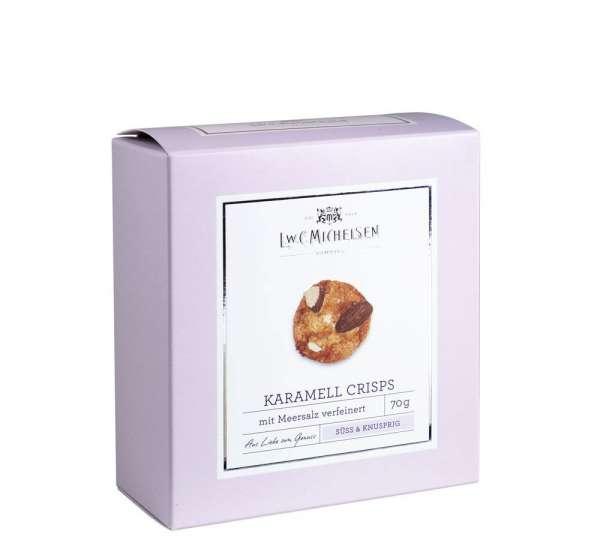 Mandel-Kekse mit gesalzenem Karamell von L.W.C. Michelsen 70g