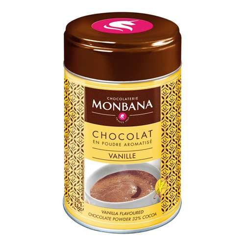 Monbana Trinkschokolade Vanille Dose 250 g