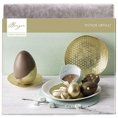 Berger Schokolade mit Pistazie gefüllt 100 g