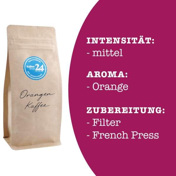 Orangen Kaffee