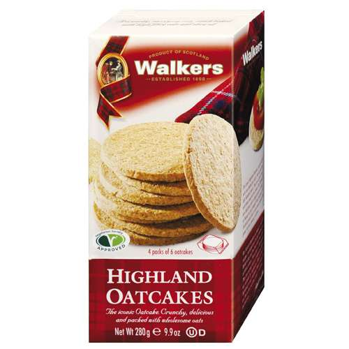 Walkers Highland Oatcakes 280 g