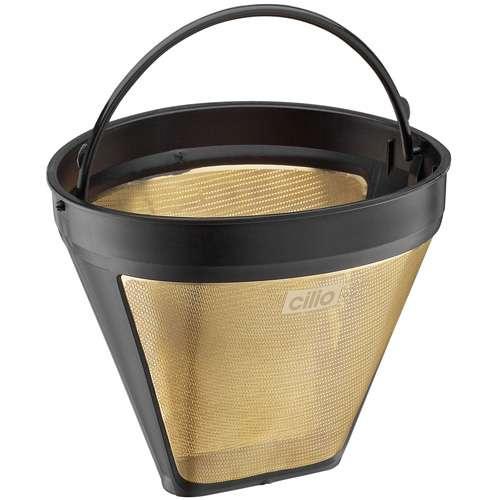 Cilio Gold-Kaffeefilter Größe 4