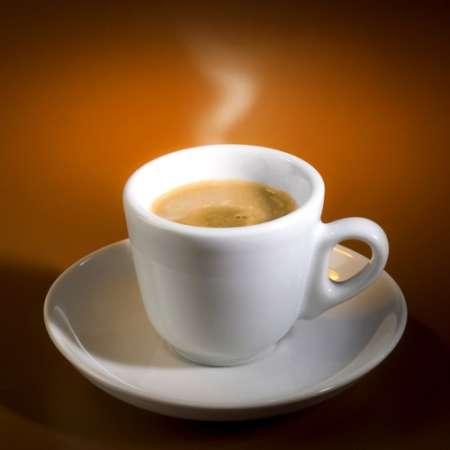 Orange Karamel Kaffee