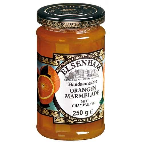 Elsenham Orangen-Marmelade mit Champagner 250 g