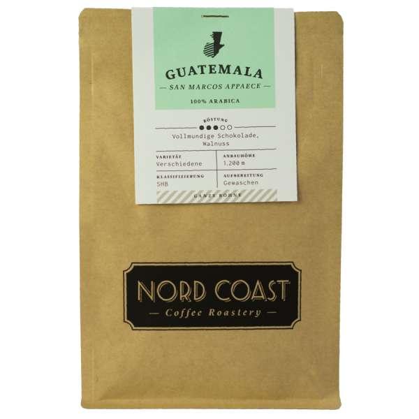 NORD COAST Guatemala San Marcos Appaece Kaffee Bohne 250 g
