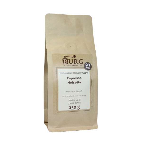 BURG Espresso Noisette aromatisiert