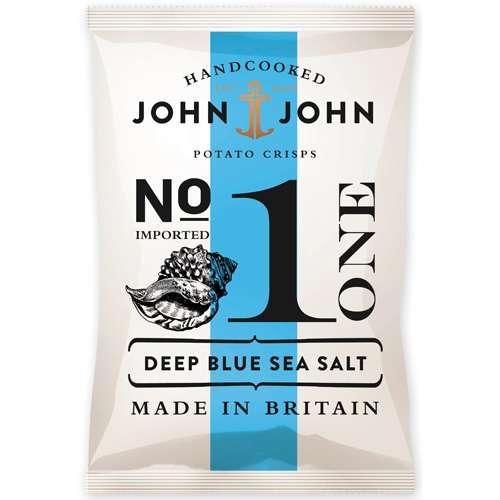 John & John Chips Deep Blue Sea Salt 150 g