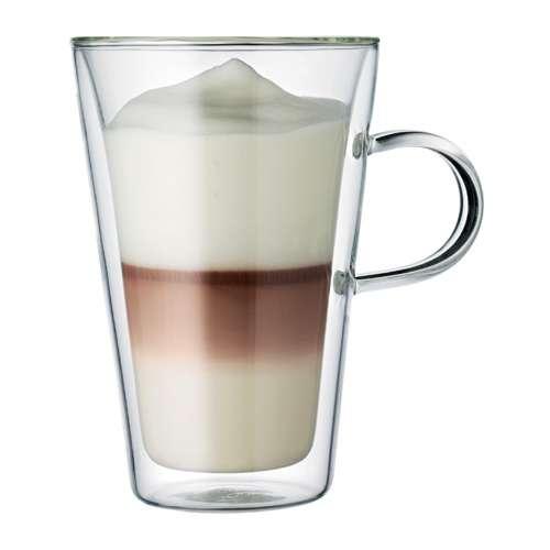 Bodum CANTEEN Tasse mit Griff 2 Stück doppelwandig 0,4 L