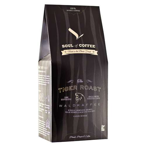 Soul of Coffee Tiger Roast Wildkaffee Bohne 300 g