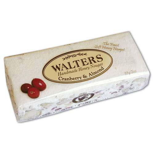 WALTERS Nougat Mandel & Cranberry 55 g