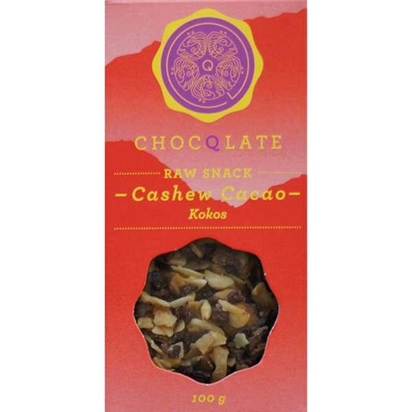 CHOCQLATE Raw Snack Bio Cashew Cacao Kokos 100 g