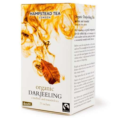 HAMPSTEAD TEA Bio Darjeeling 25 Teebeutel 50 g