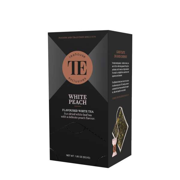TE Luxury Tea Bag White Peach 15 Teebeutel 52,5 g