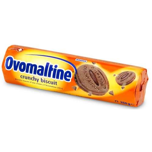 Ovomaltine Crunchy Biscuit Doppelkeks gefüllt 250 g