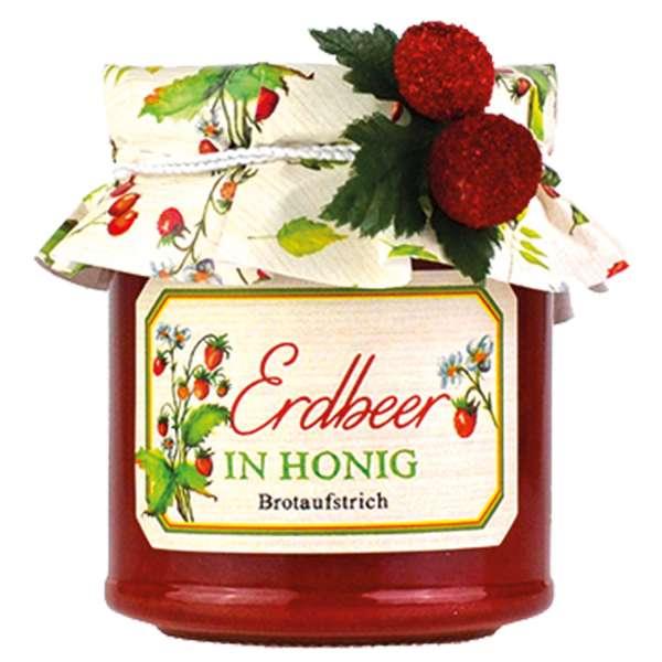 Erdbeer in Honig Brotaufstrich von Collier 250g