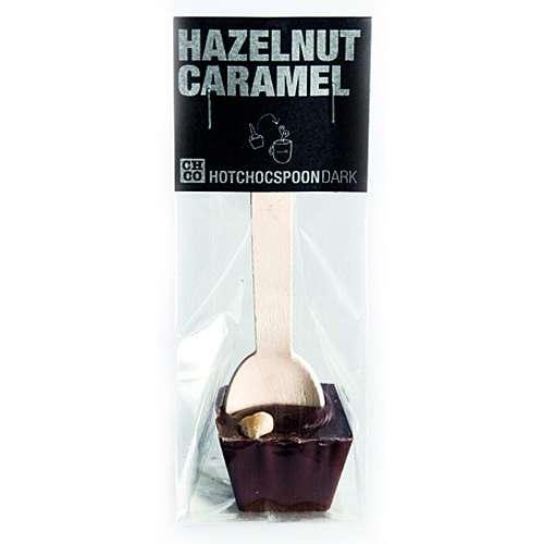 HOTCHOCSPOON Haselnuss-Karamel Zartbitter 50 g