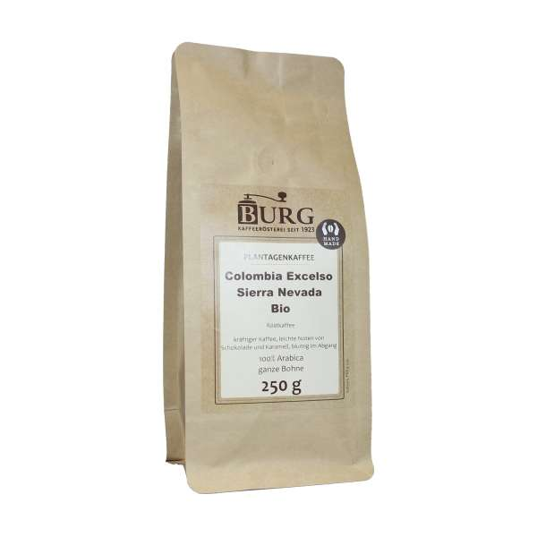 BURG Bio Colombia Excelso Sierra Nevada Kaffee