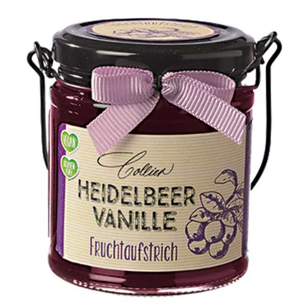 Heidelbeer - Vanille Fruchtaufstrich von Collier 225g
