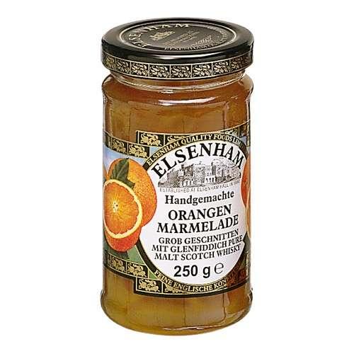 Elsenham Orangen-Marmelade mit Whisky 250 g