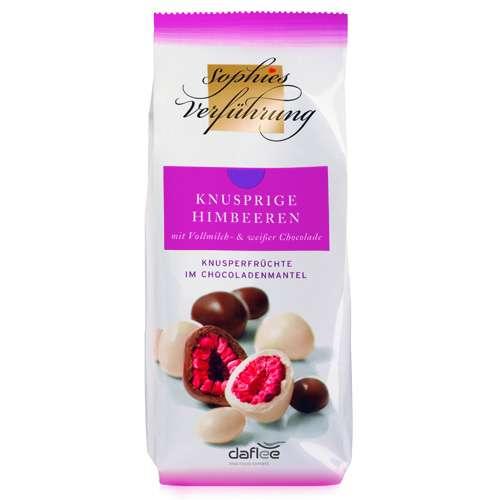 Sophies Verführung Himbeeren Vollmilch & Weiße Schokolade