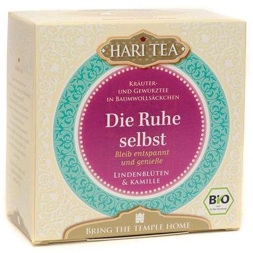"""HARI TEA Bio """"Die Ruhe selbst"""" 10 Teebeutel 20 g"""