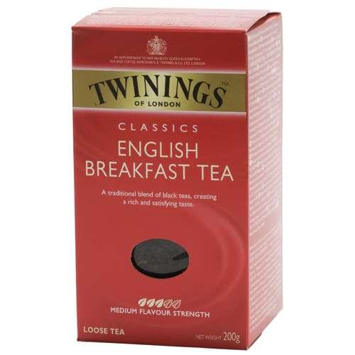 Twinings English Breakfast Tee lose 200 g