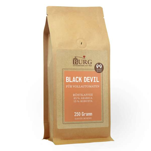 BURG Kaffee Black Devil