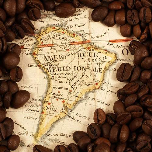 Südamerika Kaffee Set