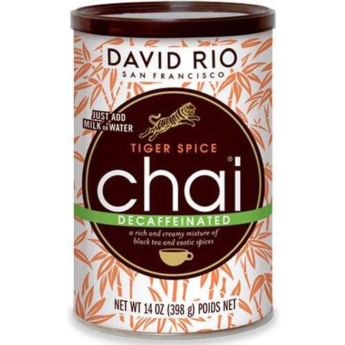 David Rio Tiger Spice Decaf Chai 398 g