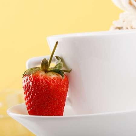 Erdbeer Sahne Kaffee