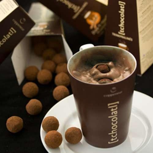 Coppeneur Trinkpralinen Bio 52% Cocoa & Mandelnougat 100 g