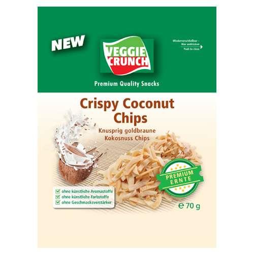 VeggieCrunch Snack Kokosnuss Chips 70 g
