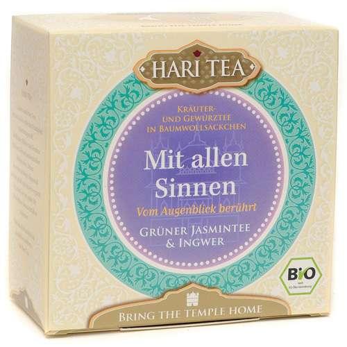"""HARI TEA Bio """"Mit allen Sinnen"""" 10 Teebeutel 20 g"""