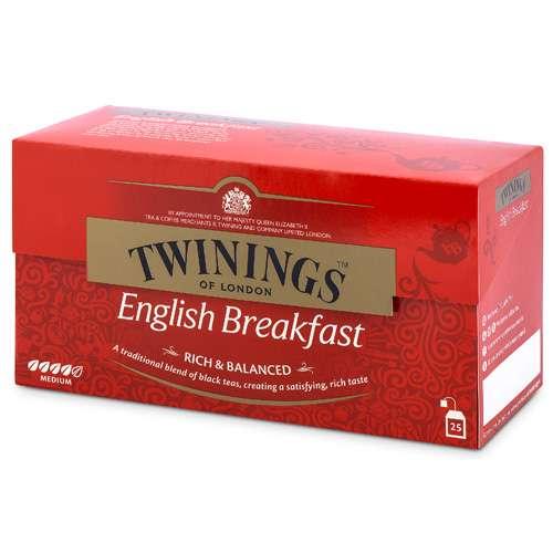 Twinings English Breakfast Tee 25 Teebeutel